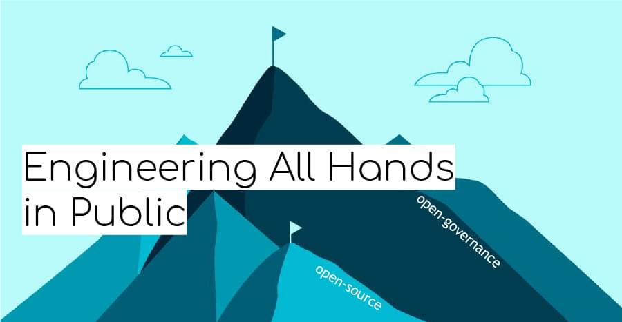 Engineering All Hands in Public